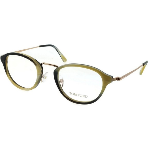 84b2eb5cbf7 FT5321-061 Men s Horn Green Frame Eyeglasses. NWT. Tom Ford